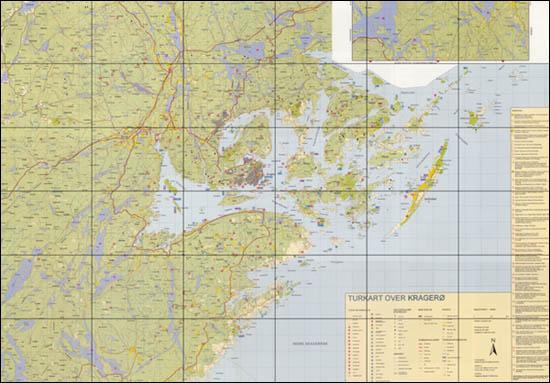 kart kragerø og omegn Turkart Kragerø kart kragerø og omegn