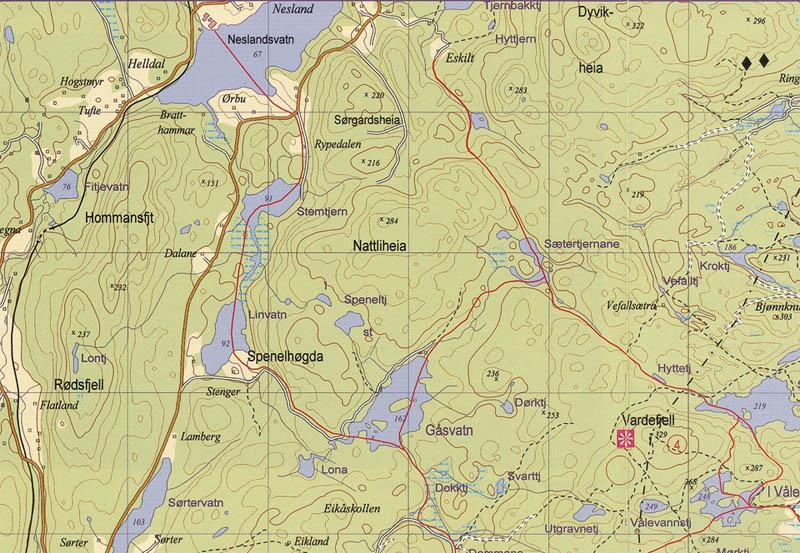 kart 1 50000 Turkart Kragerø kart 1 50000