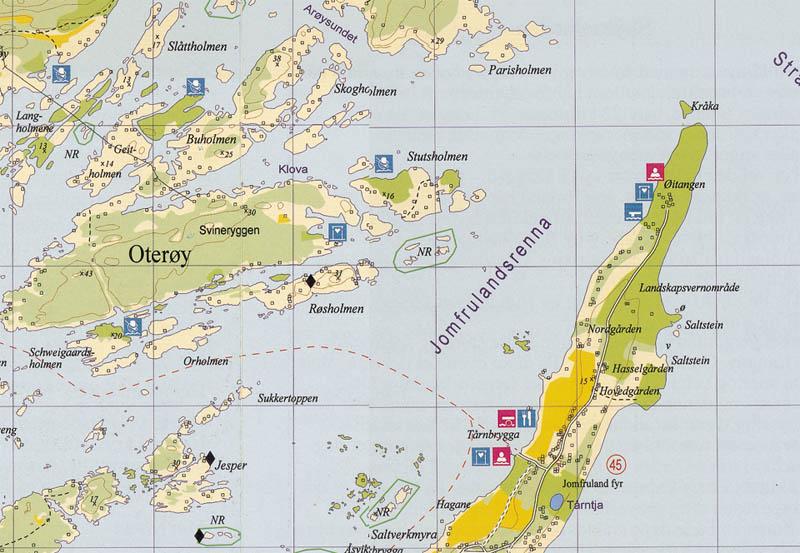 kragerø kart Turkart Kragerø kragerø kart