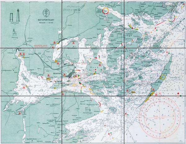 kart sjøkart Sjøkart Kragerø kart sjøkart