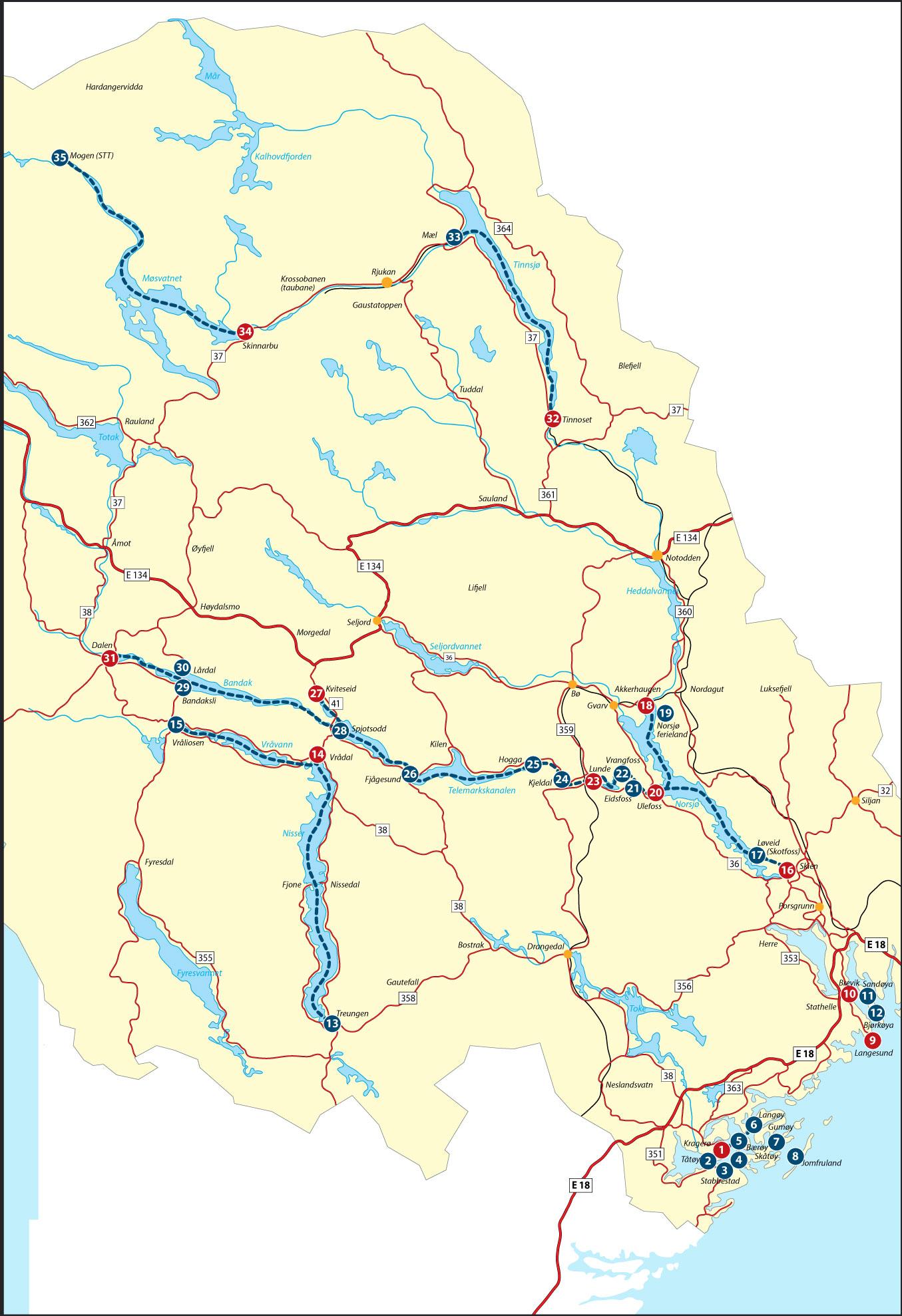 kart over vrådal mortens tursider kart over vrådal