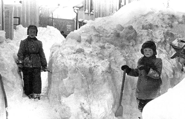 Vinter i Skippergata